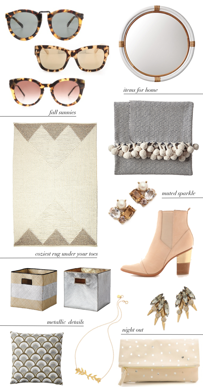 Fall Home & Fashion favourites