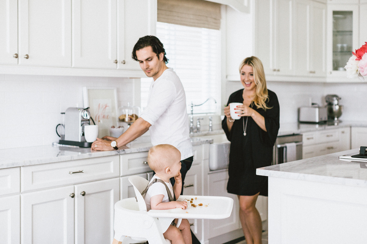 White Kitchen Stokke Chair Monika Hibbs home
