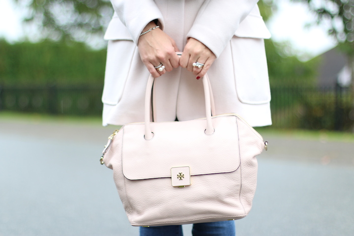 Pink Tory Burch Bag