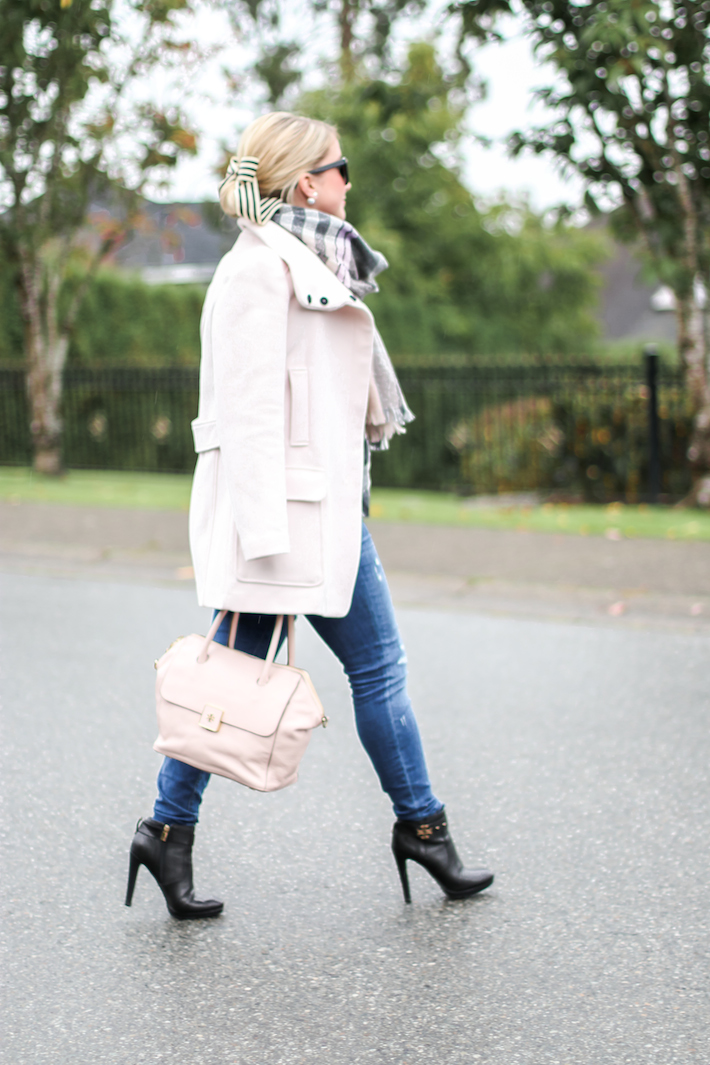 Pink Coat Pink Tory Burch Bag
