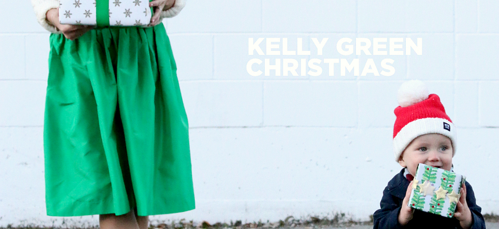 Holiday Style Kelly Green