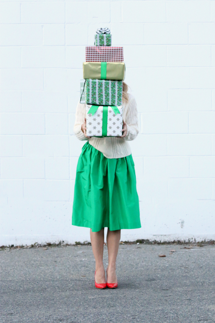 Monika Hibbs Kelly Green Partyskirt