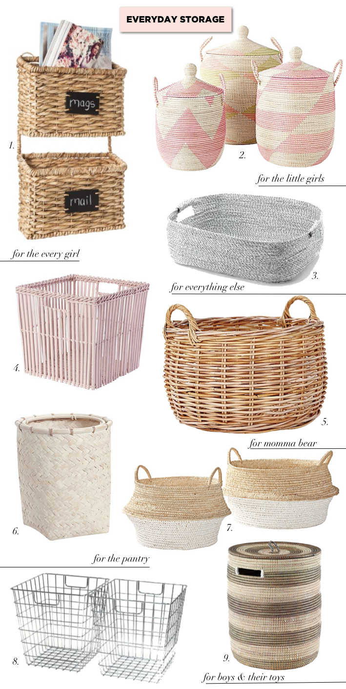 Storage Baskets hampers