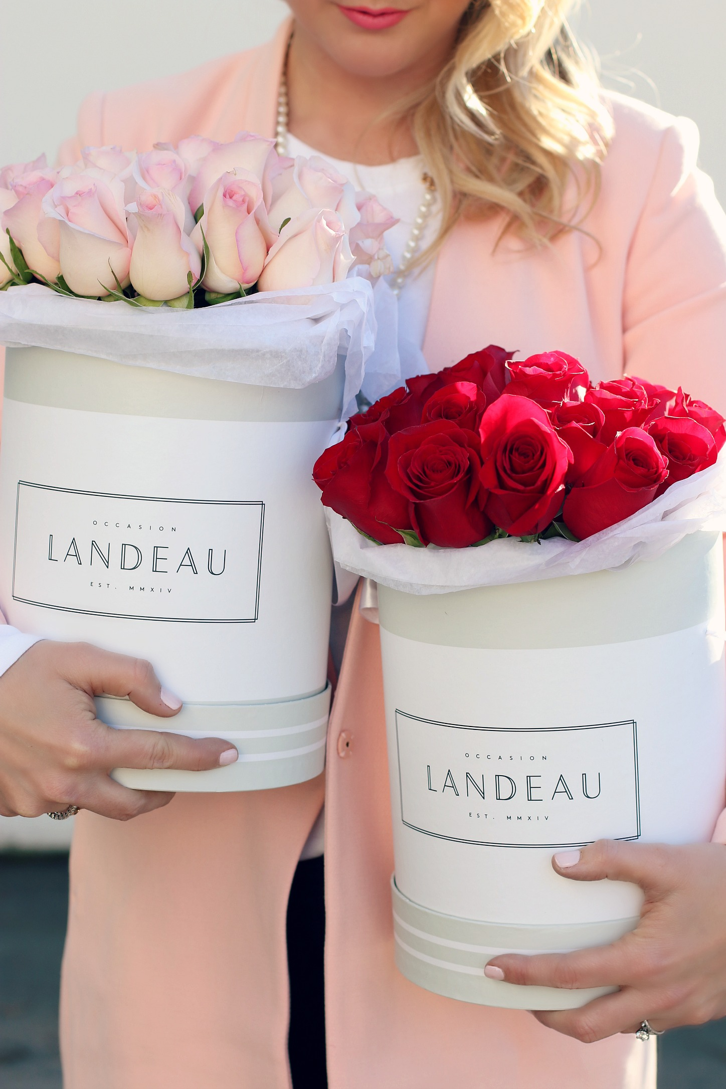 Valentine's Day Give Landeau roses Monika Hibbs
