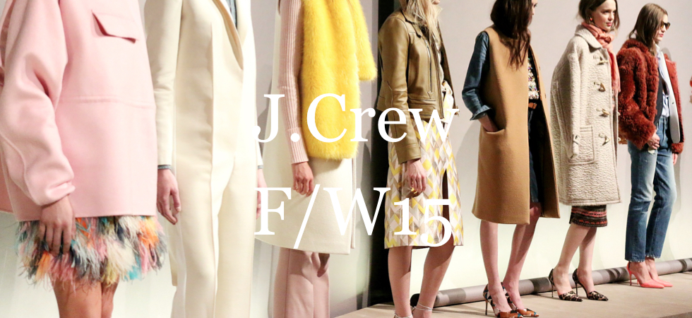 J. Crew Fall Winter 2015 Presentation