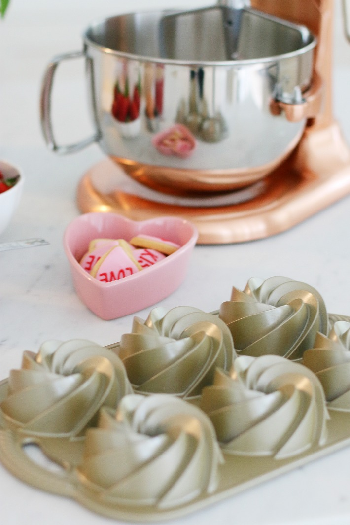 Williams Sonoma Copper Mixer Valentine's Day