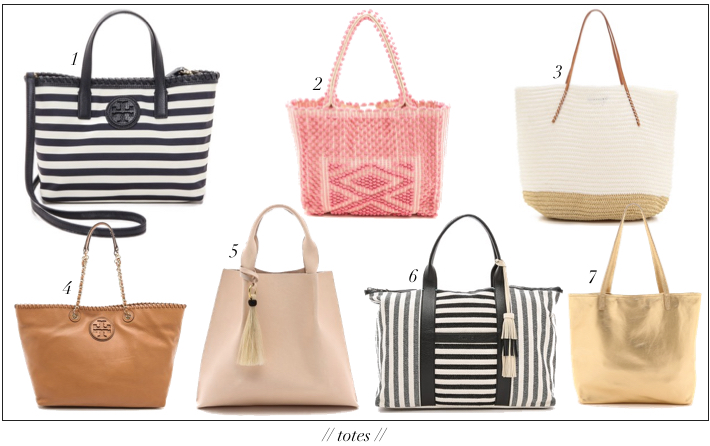 Spring Summer Totes