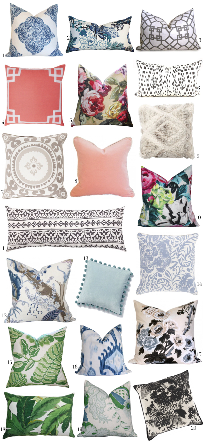 Best designer pillows