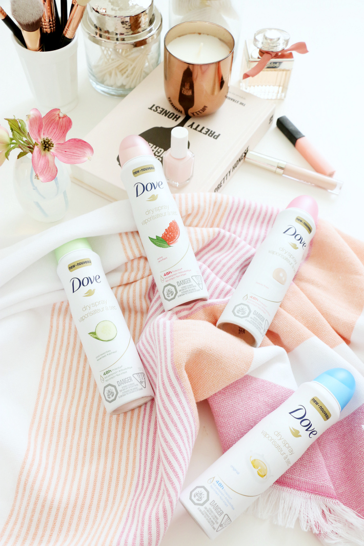Dove Deodorant spray