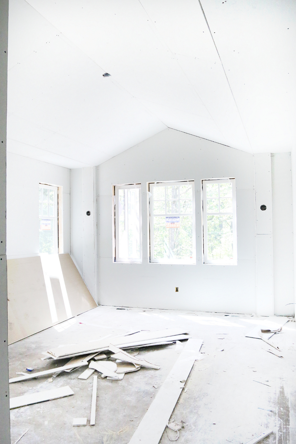 Building Series: Dry Wall Master Bedroom