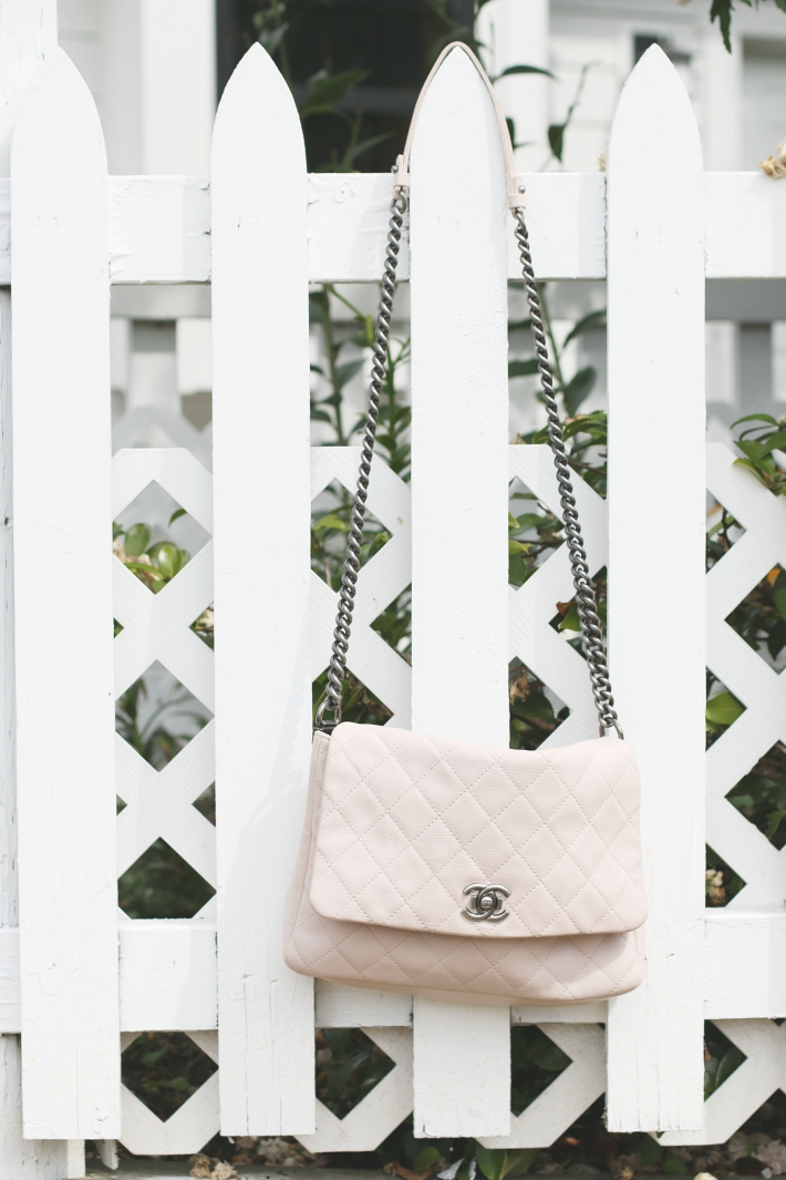 Chanel Blush Pink bag Monika Hibbs