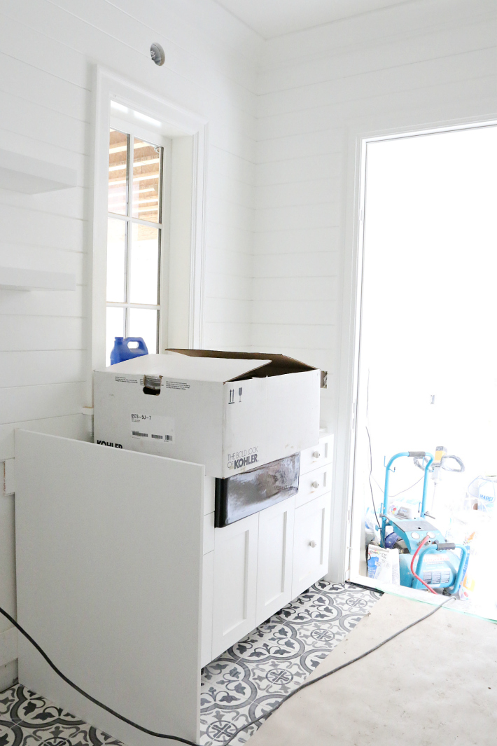 Mud Room Laundry Room New Build