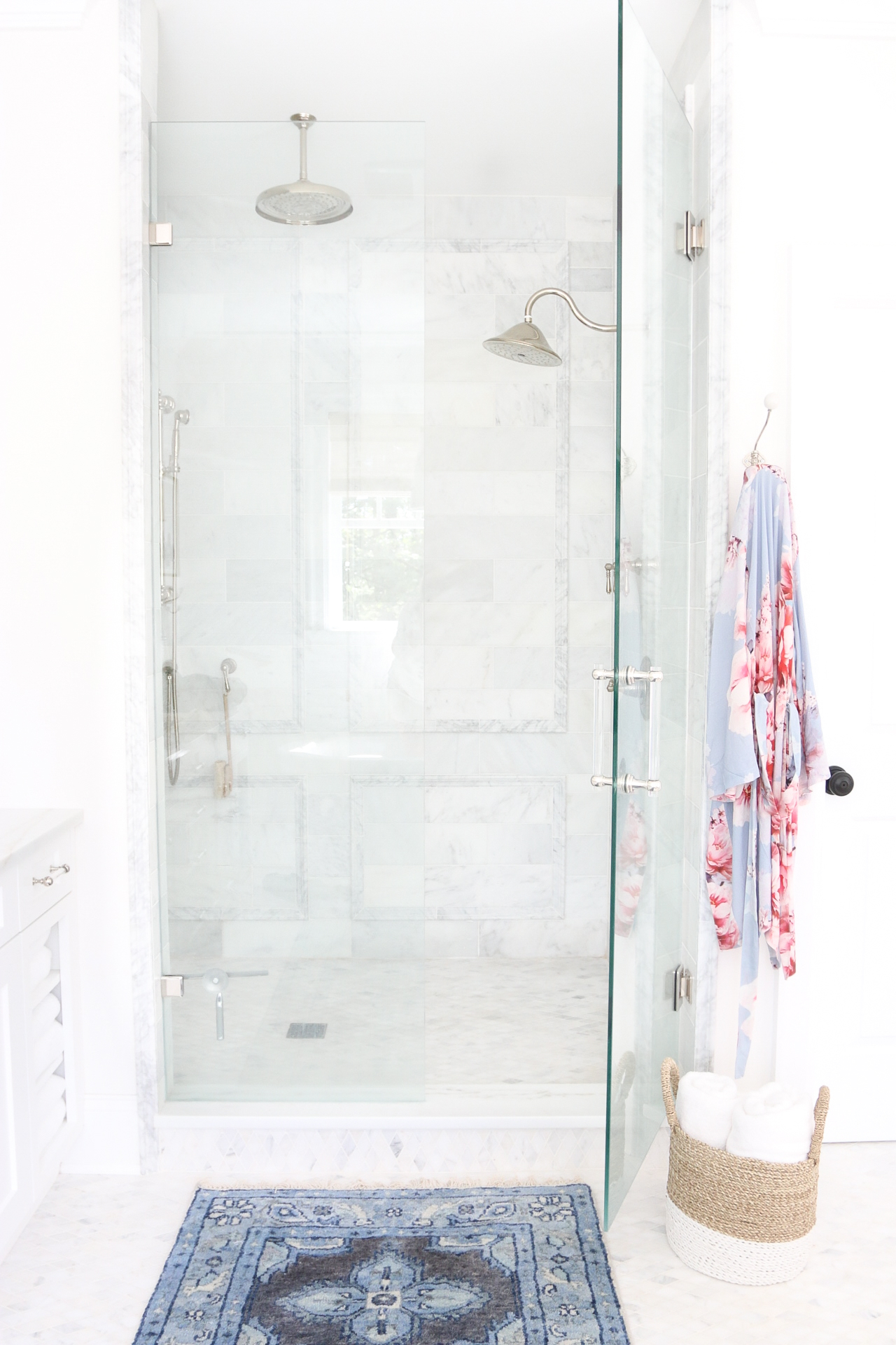 Master Marble Shower Monika Hibbs