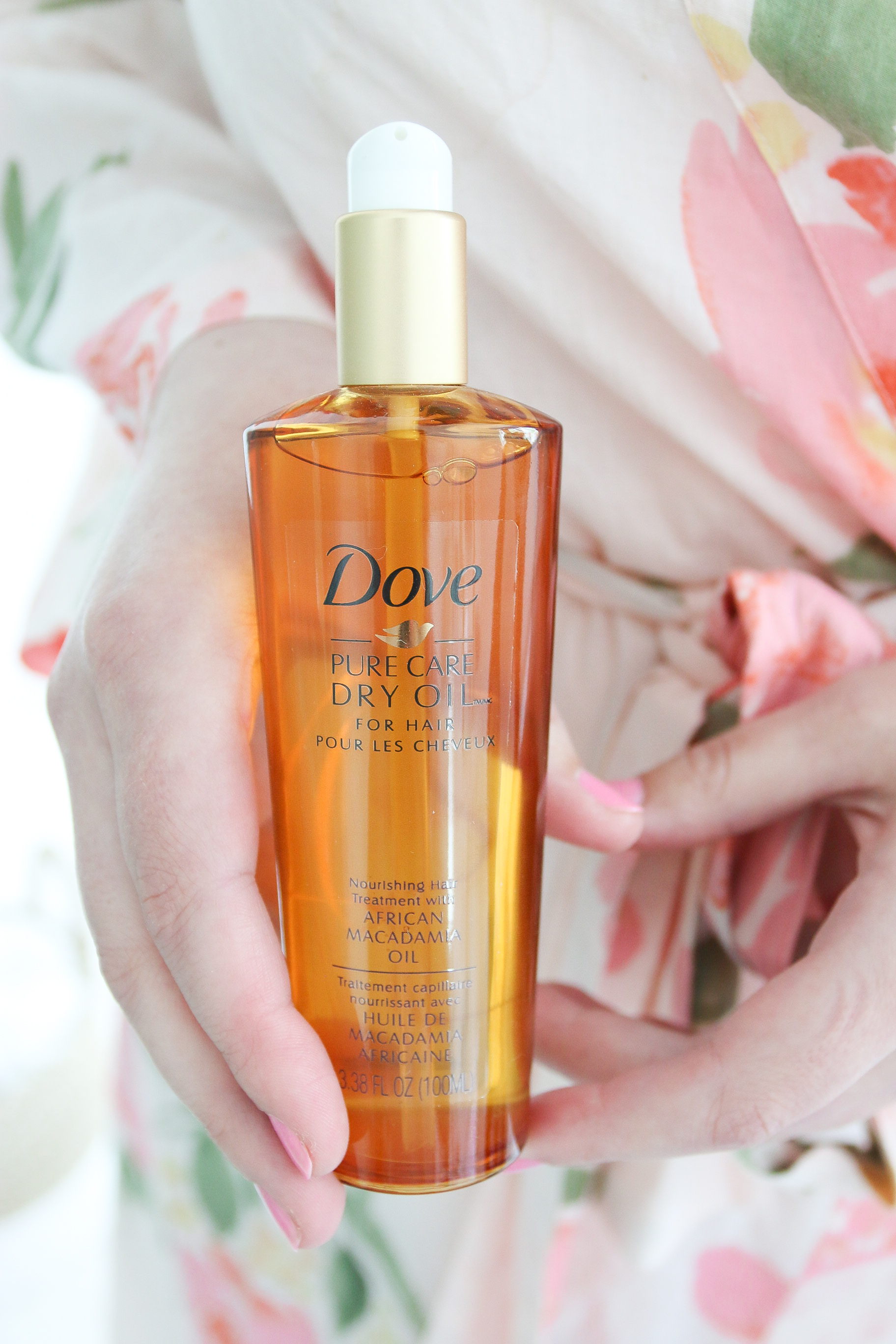 Dove Dry Oil Monika Hibbs