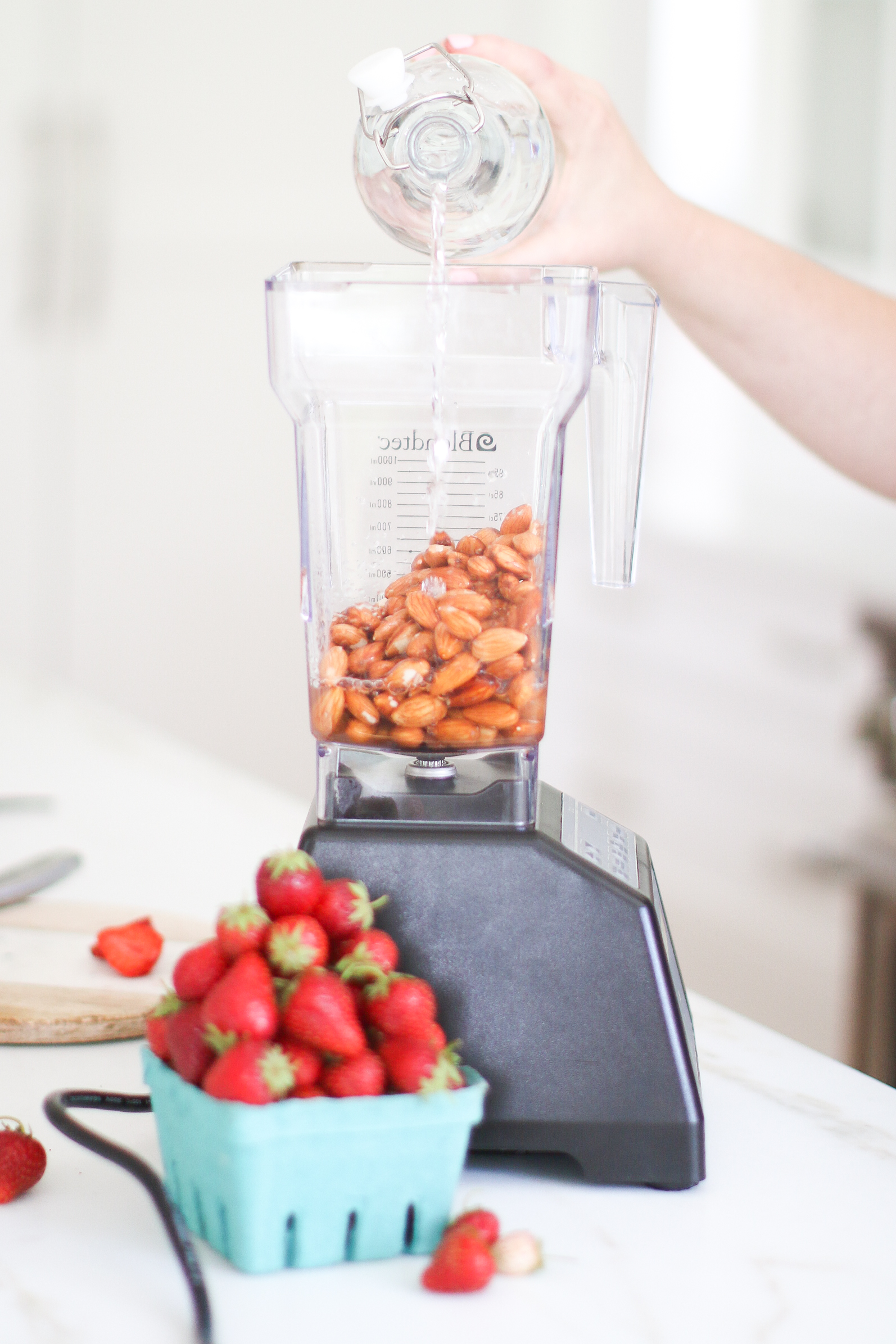 Strawberry Almond Milk DIY Recipe Monika Hibbs