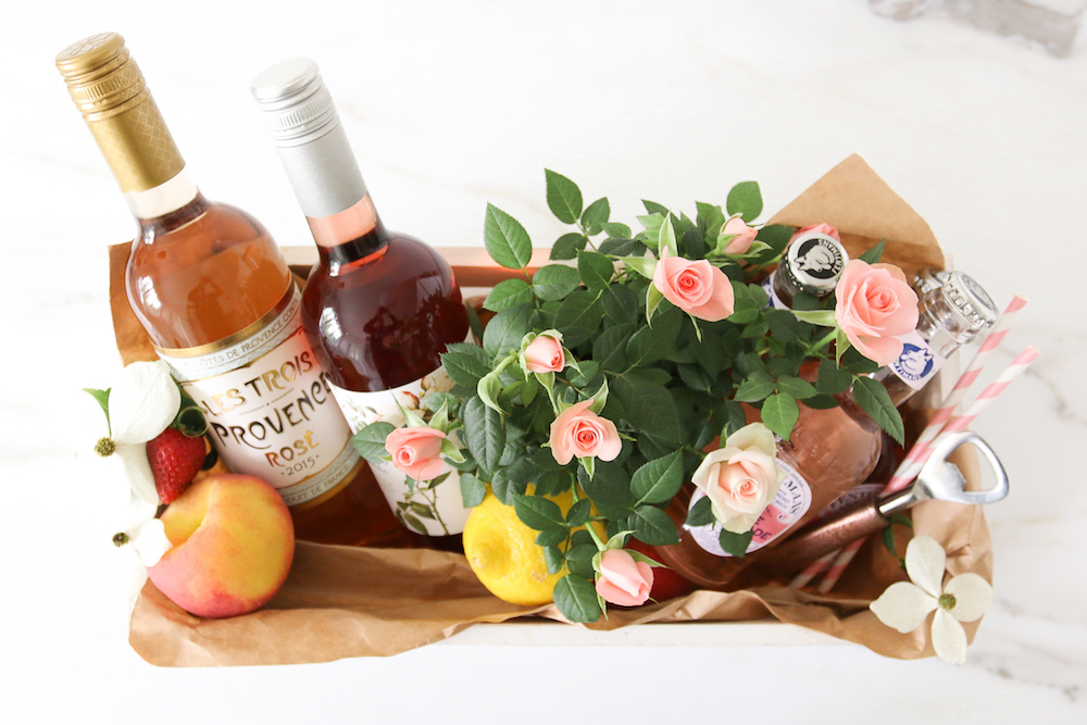 National Rosé day Hostess Gift  Monika Hibbs