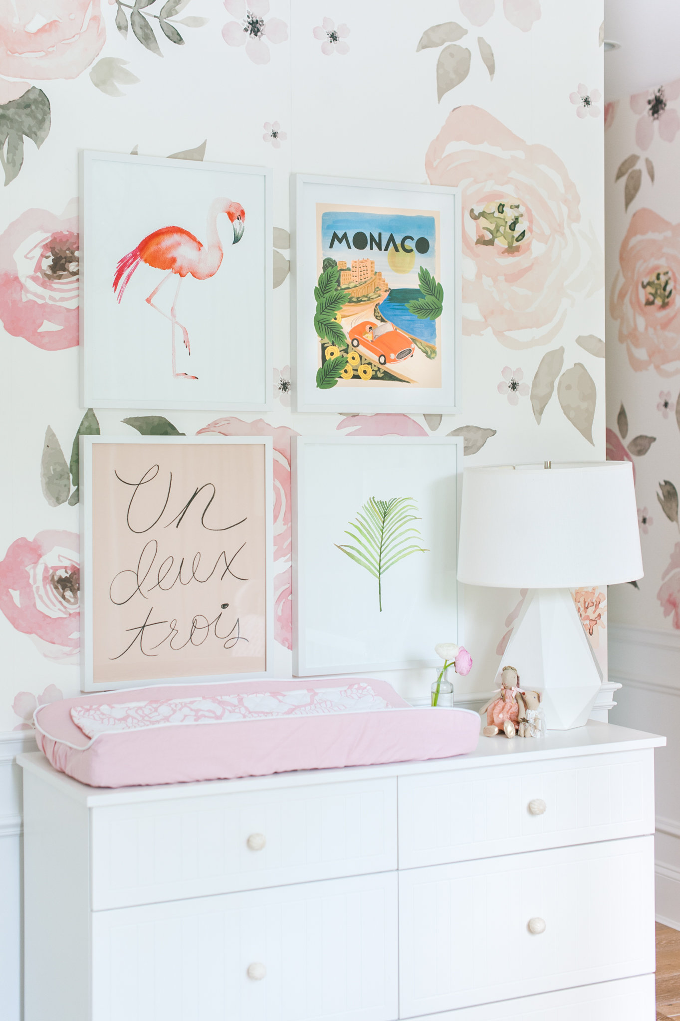 Girl Nursery Dresser Monika Hibbs Lillya Grace