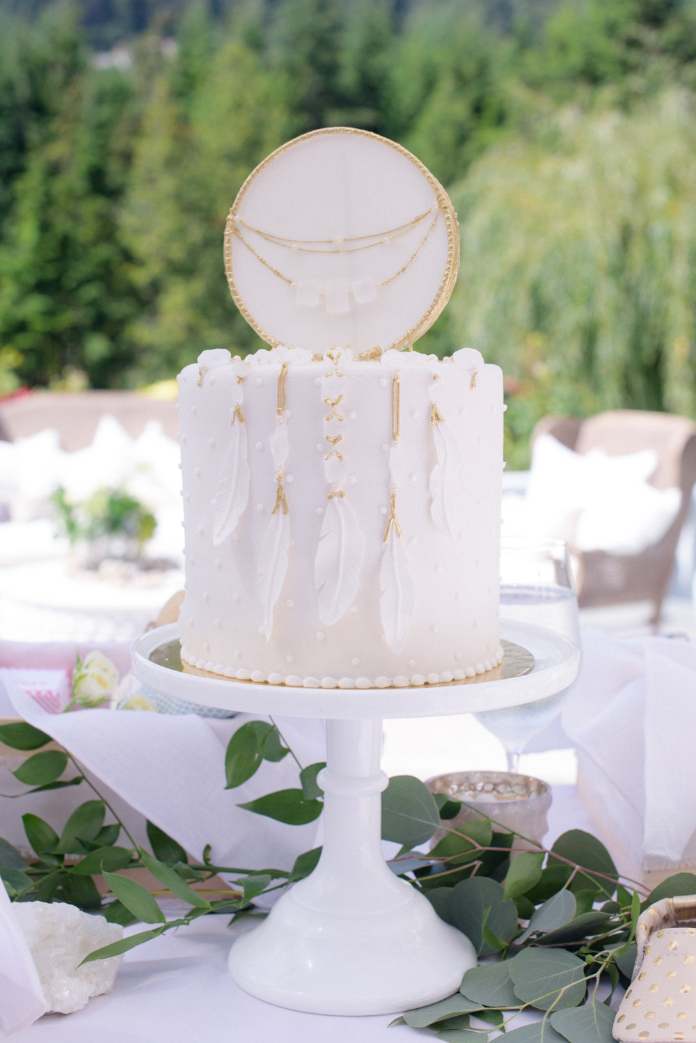 Jillian Harris Baby Shower Monika Hibbs Mini Cake