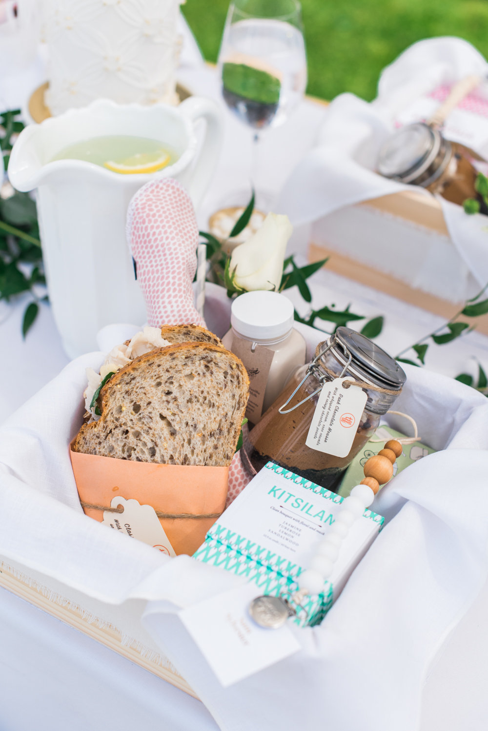 Jillian Harris Baby Shower Boxed Lunch Monika Hibbs