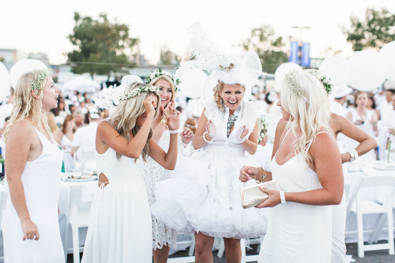 Diner En Blanc Vancouver Long table MONIKA HIBBS