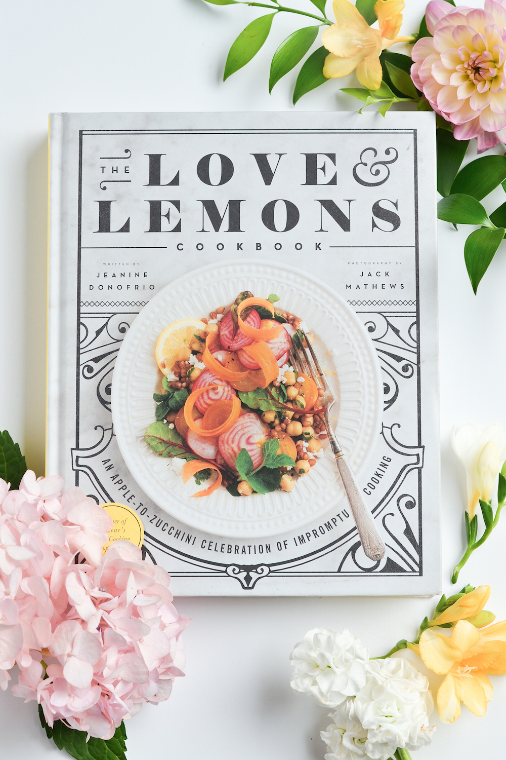 Love & Lemons Cookbook Reading Summer Floral Monika Hibbs