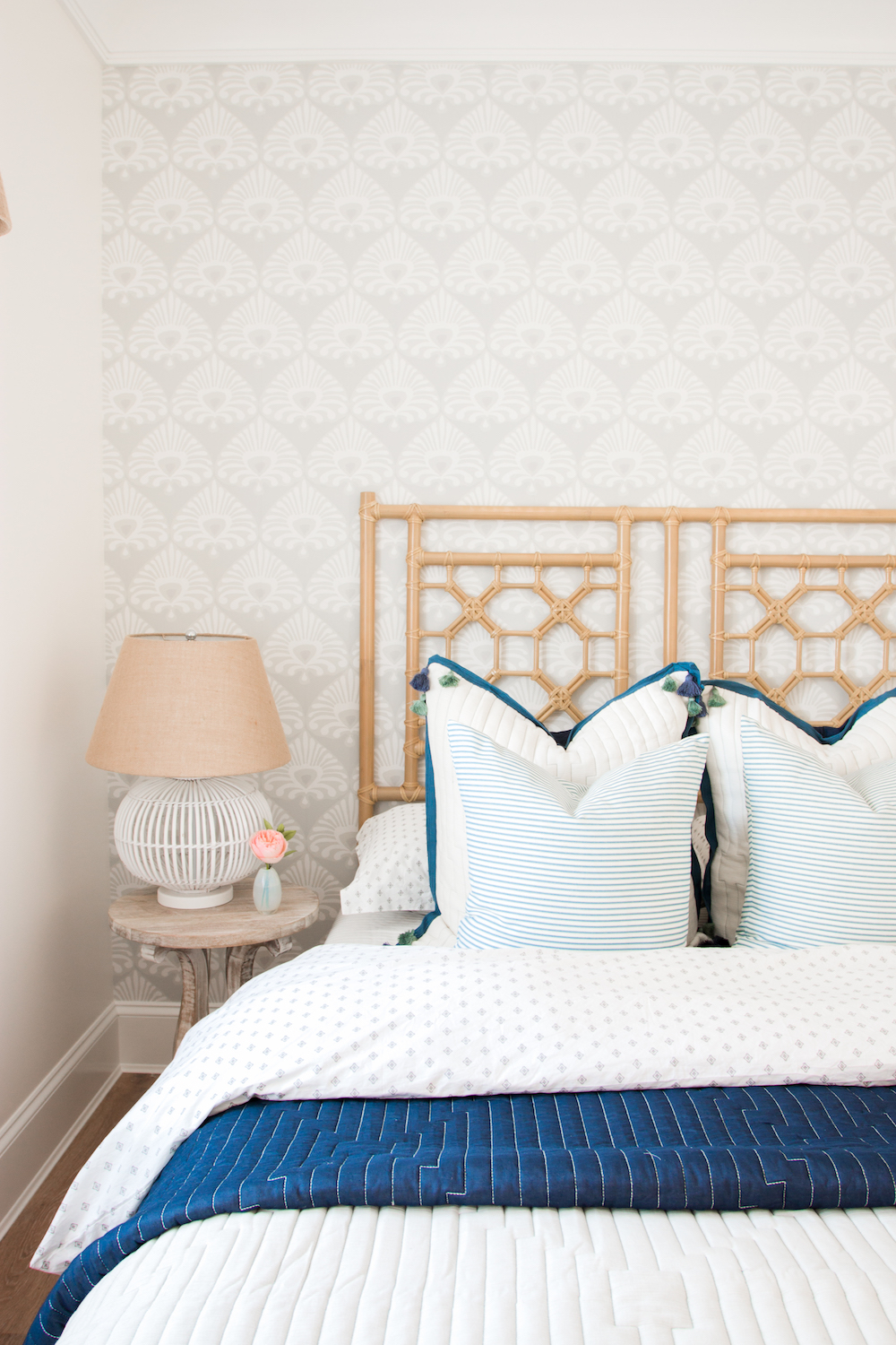 Coastal Style Guest Bedroom Monika Hibbs