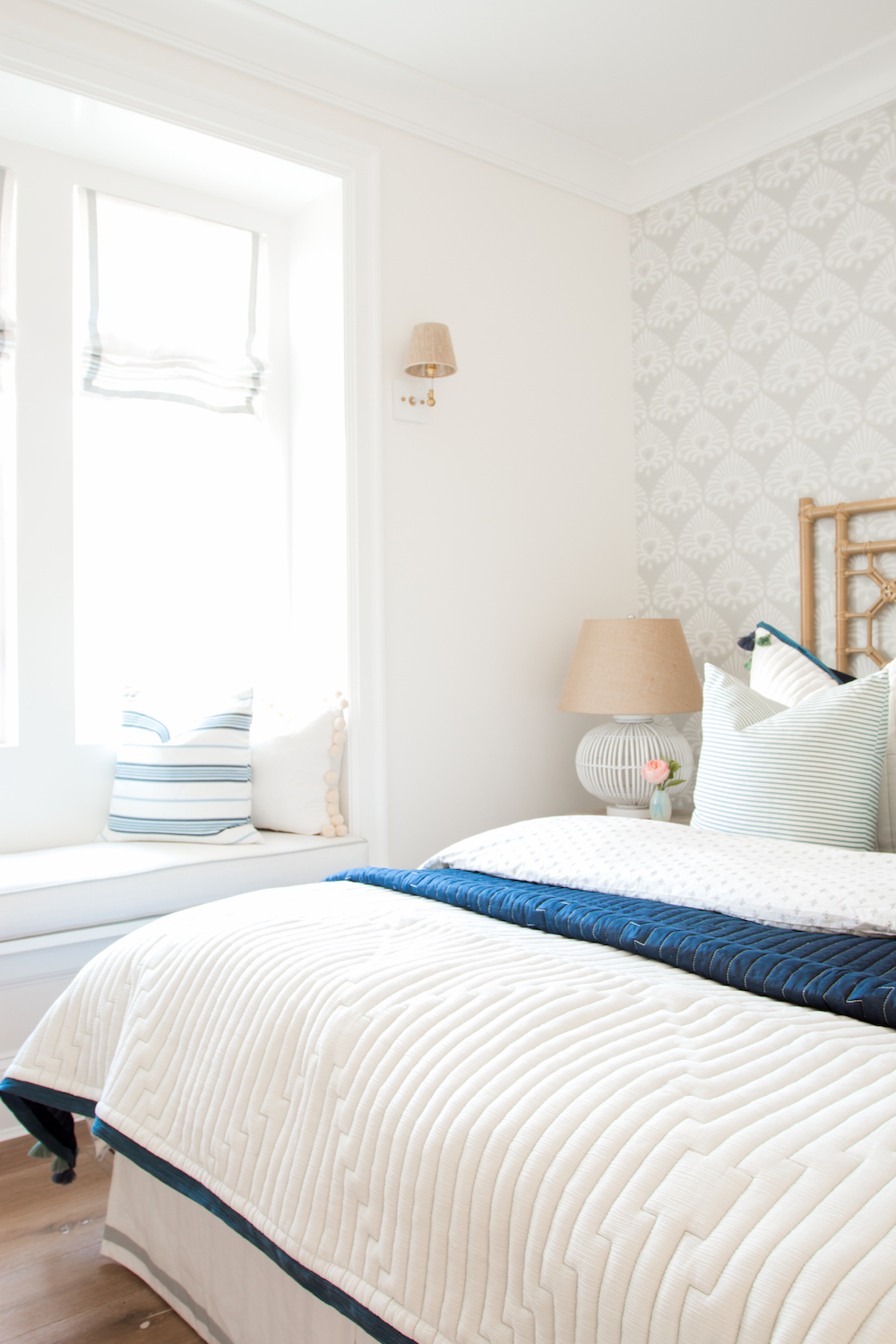 Coastal Guest Bedroom Monika Hibbs