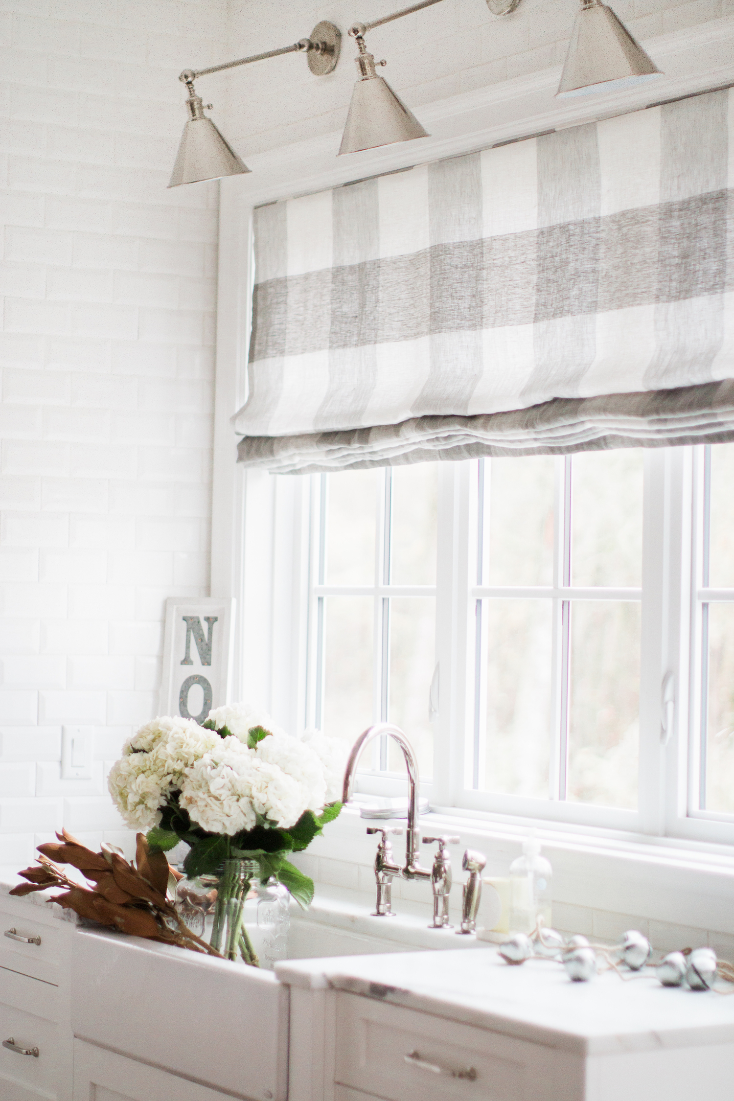 Buffalo Check roman Blind Monika Hibbs
