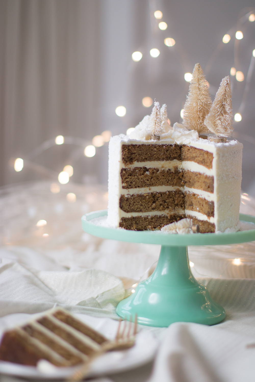 Sticky Date Gingerbread Layer Cake Monika Hibbs