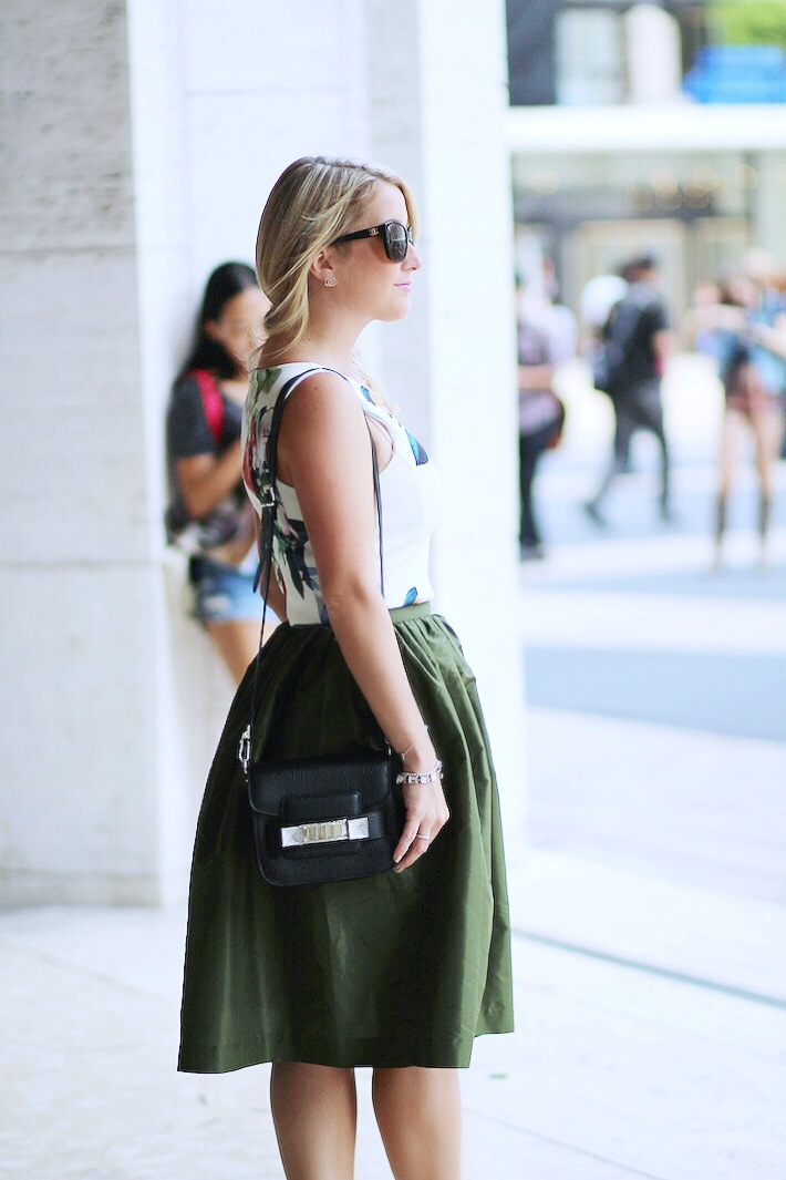 New York Fashion Week Party Skirt