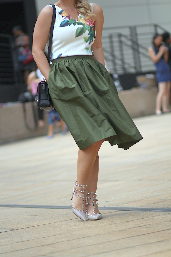 New York Fashion Week Party skirts
