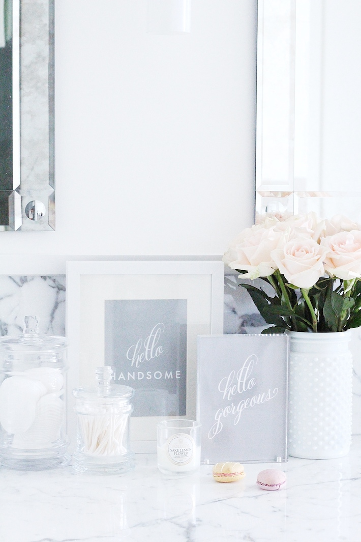White Bathroom Marble