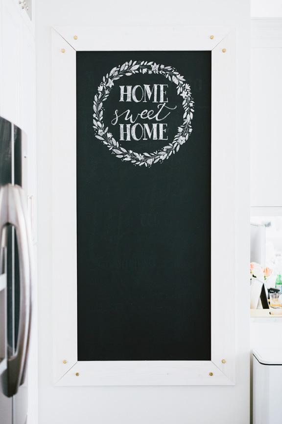 Chalk Board Kitchen Monika Hibbs Home