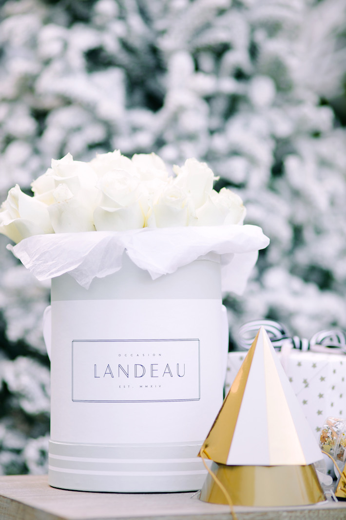 NYE Landeau Roses Hostess Gift