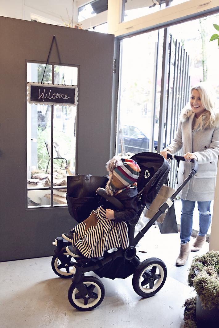 Monika Hibbs Liam Christmas Shopping