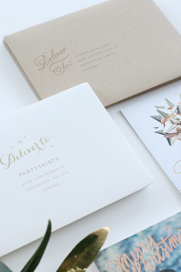 Minted Christmas Holiday Card giveaway
