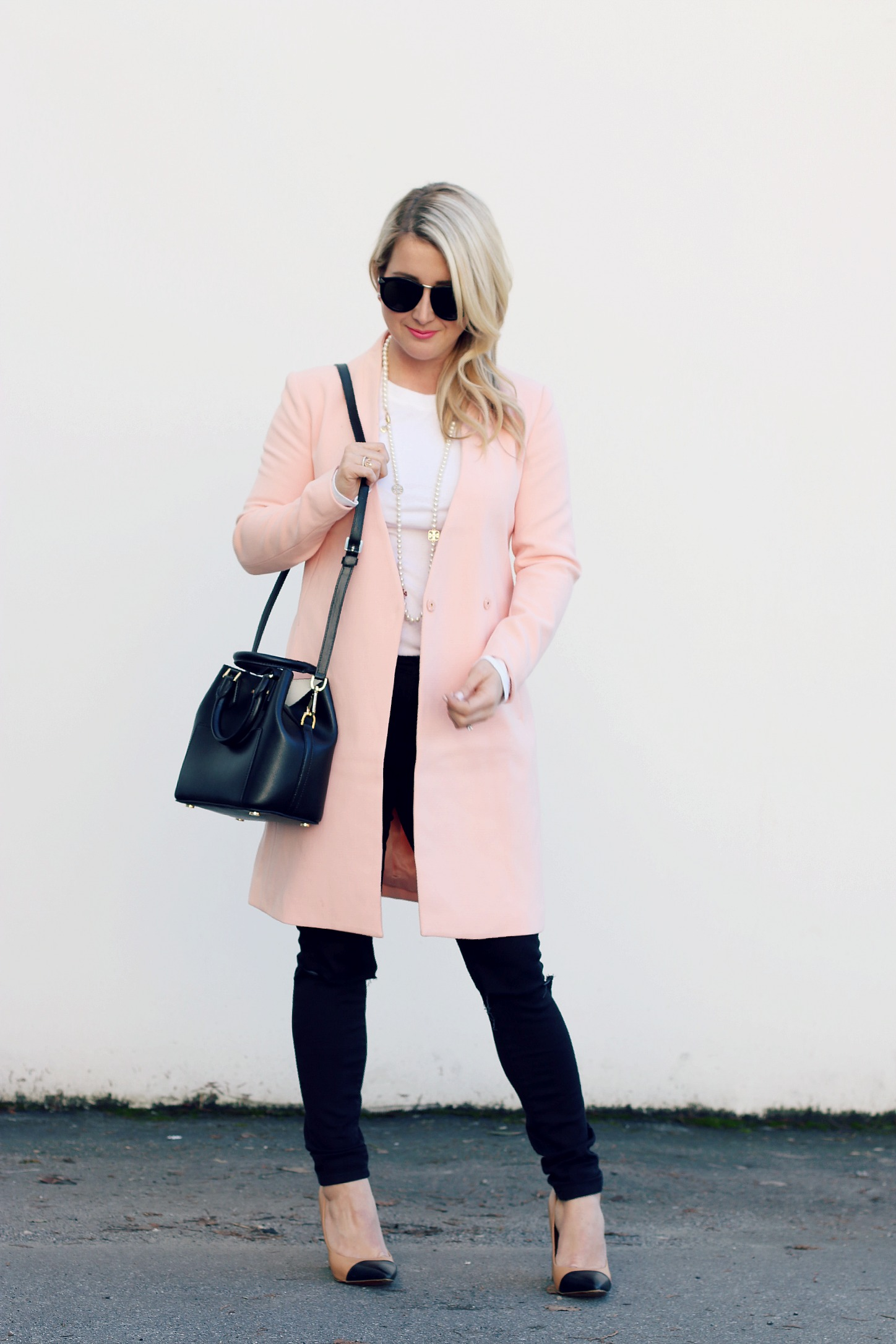 Michael Kors Purse Pink Coat Monika Hibbs