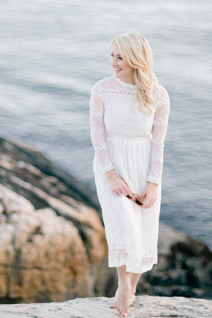 Lace White Dress Monika Hibbs