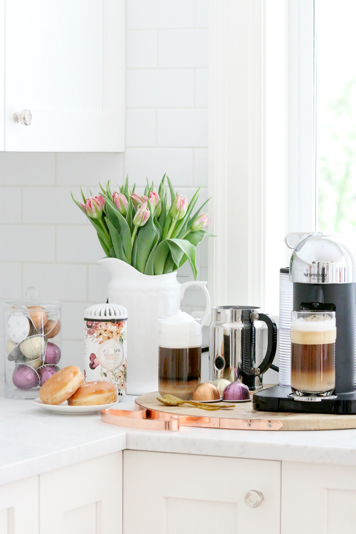 Nespresso VertoLine White Kitchen