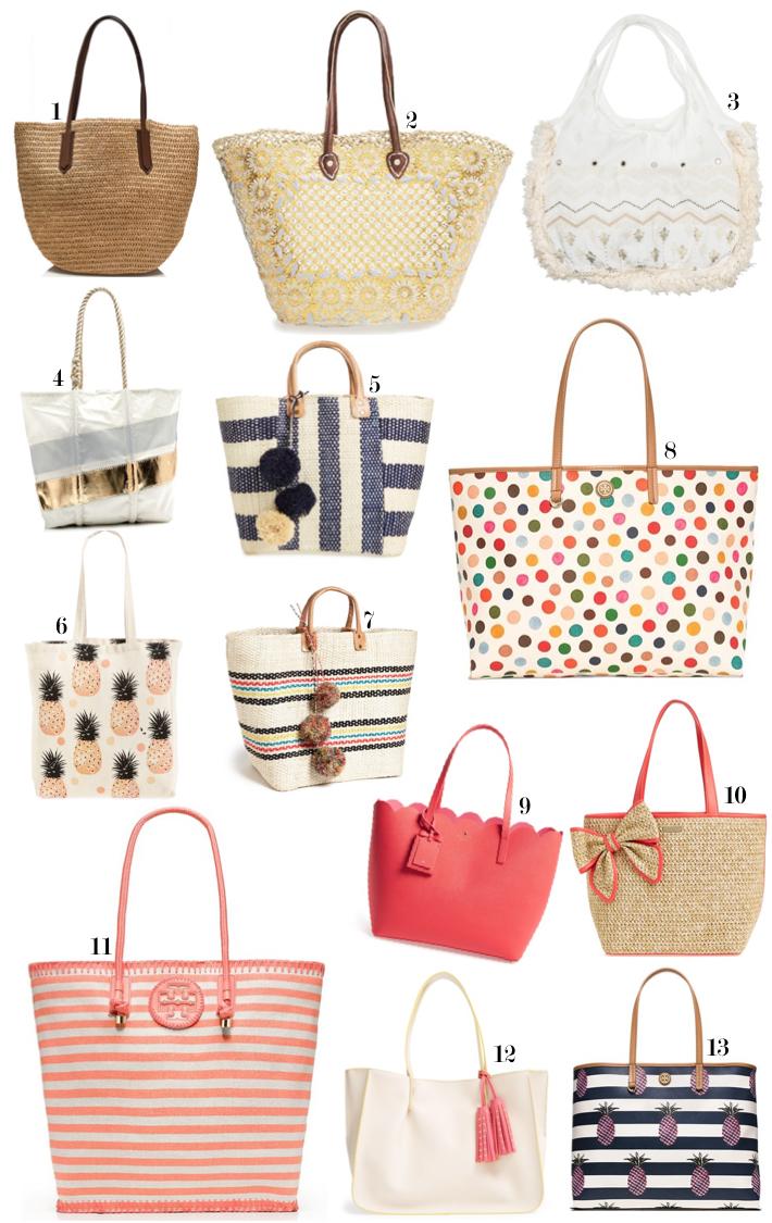 Summer Totes beach bags