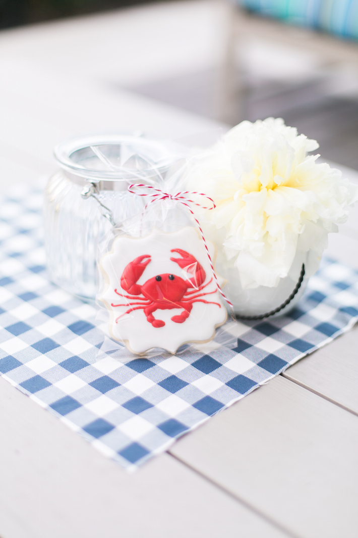 Crab Sugar Cookie Clam Bake