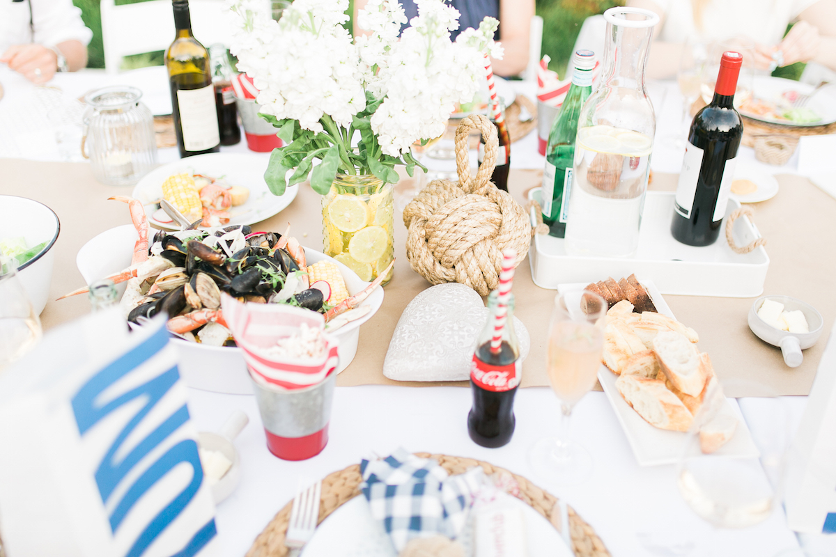 Clam Bake Dinner Party