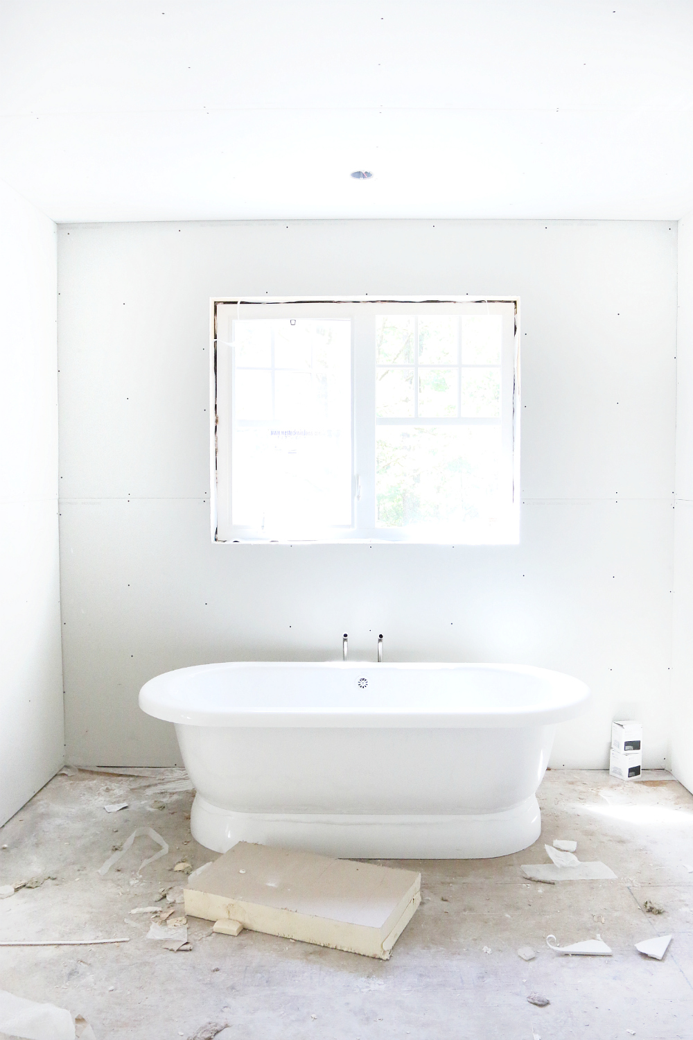 Building Series: Dry Wall Ensuite