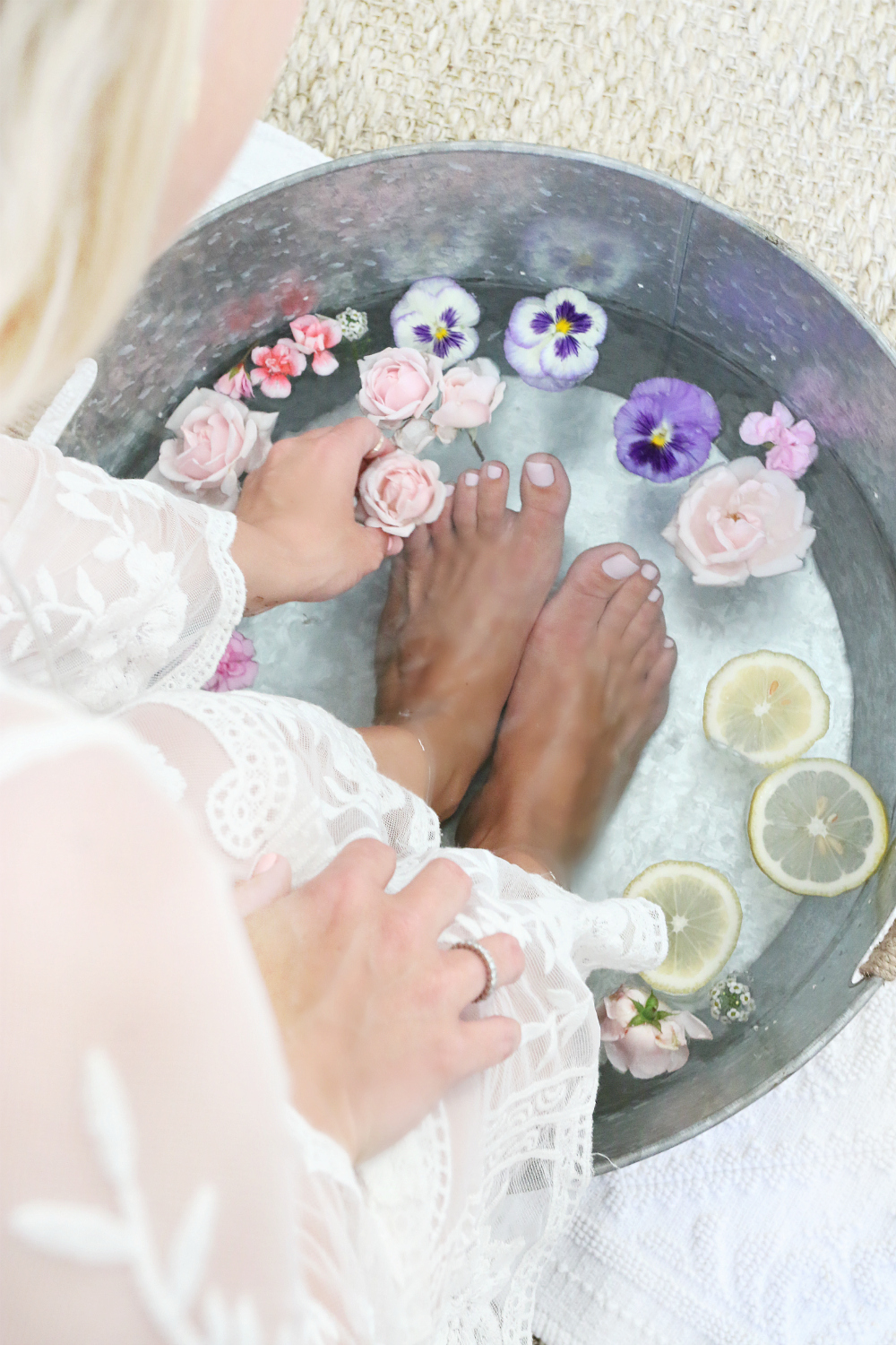 Home Flower Pedicure