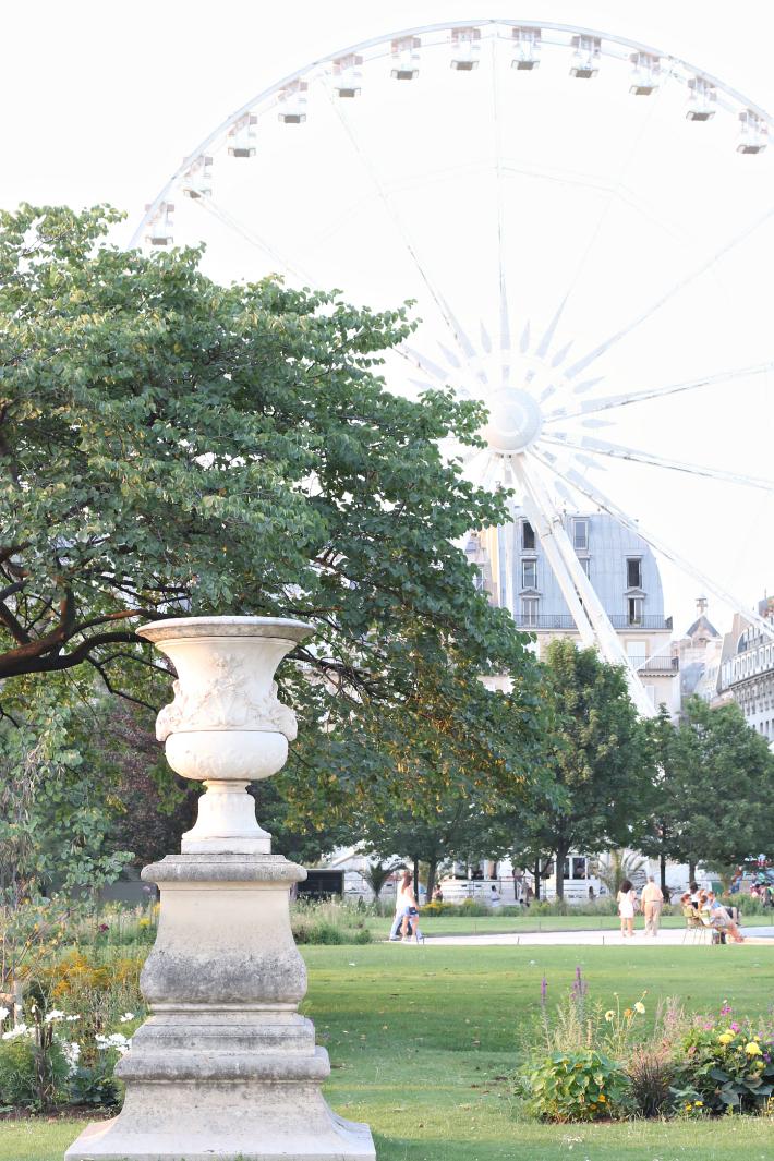 Paris Tuileries Garden