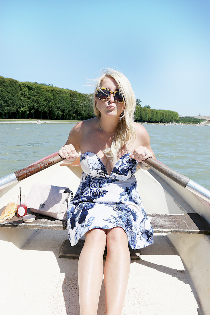 Versailles row boat