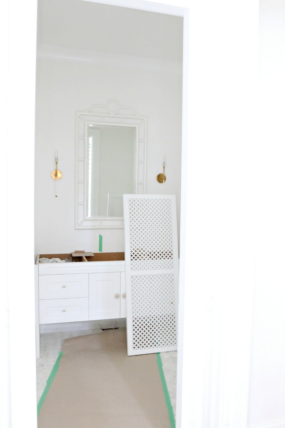 Powder room New Build Monika Hibbs