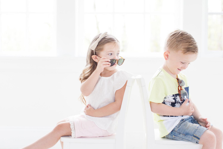 girl boy spring summer fashion H&M Kids Spring Fashion Monika Hibbs