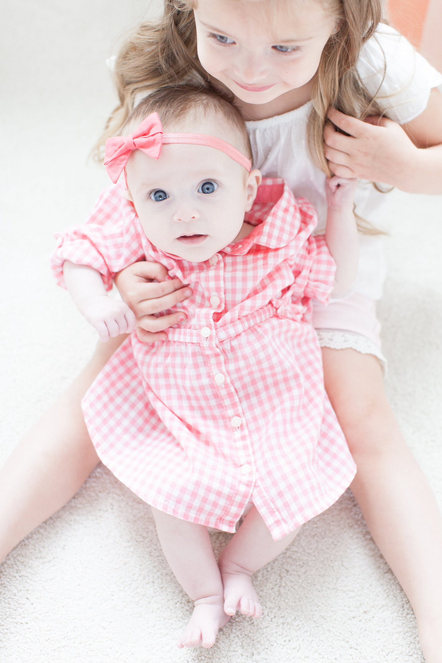 H&M Kids Spring Fashion Monika Hibbs baby girl gingham dress