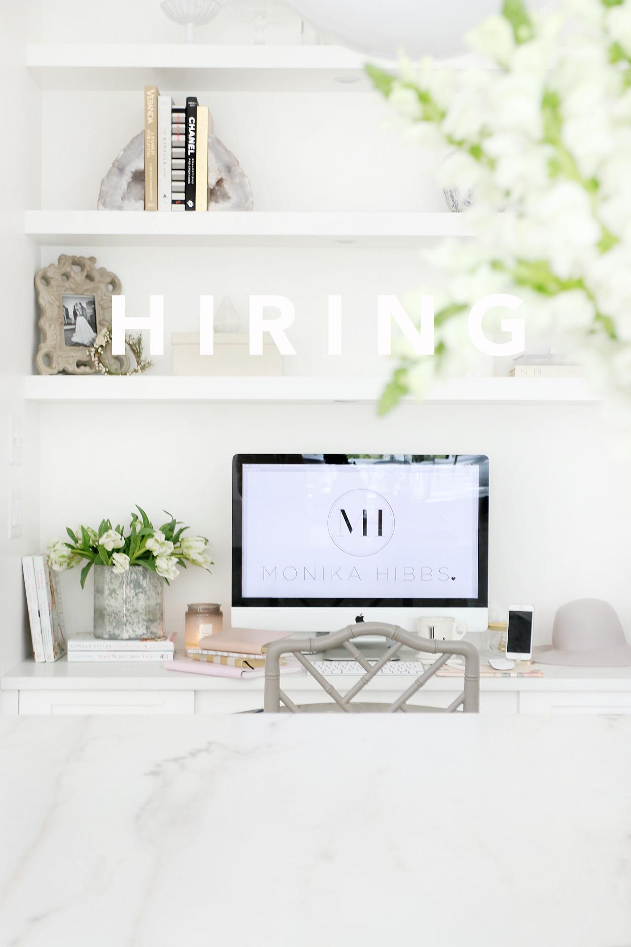 hiring monika hibbs